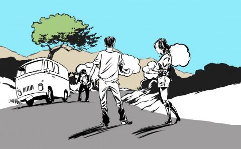 Skoda Fabia RS Comic